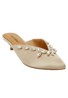 The Juana Mule by Comfortview®, CHAMPAGNE