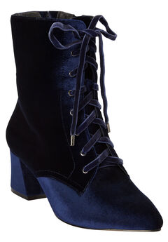 The Lela Bootie by Comfortview®, NAVY, hi-res