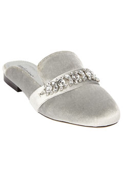The Paige Mule by Comfortview®, SILVER