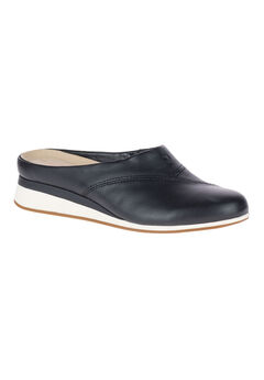 Evaro Mules by Hush Puppies®, BLACK LEATHER, hi-res