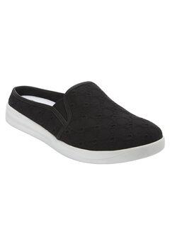 Camellia Sneaker by CV Sport by Comfortview®, BLACK