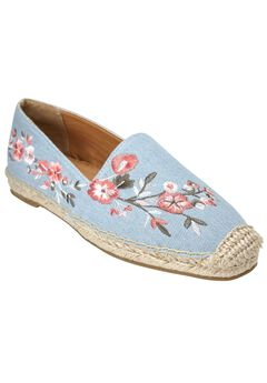 Amrisa Flats by Comfortview®, LIGHT DENIM, hi-res
