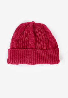 Cable Knit Beanie,