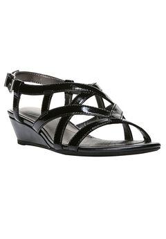Yuppies Sandals by LifeStride®, BLACK, hi-res
