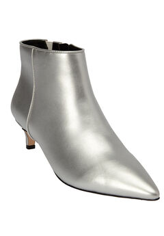 The Meredith Bootie , SILVER
