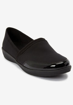 The Manon Rain Flat By Comfortview®, BLACK
