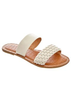 Alexia Sandals by Comfortview®, OATMEAL, hi-res