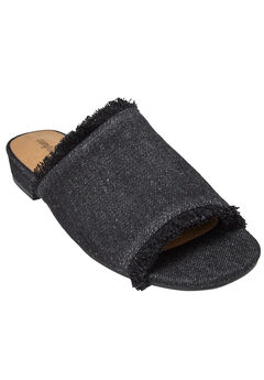 Faryl Mules by Comfortview®, BLACK, hi-res