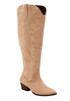 The Isabella Wide Calf Boot by Comfortview®,