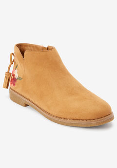 The Sienna Bootie by Comfortview®, TAN, hi-res
