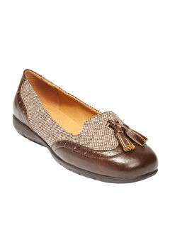 Aster Flats by Comfortview®, BROWN TWEED, hi-res