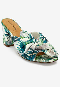The Bekah Mule by Comfortview®, GREEN LEAF