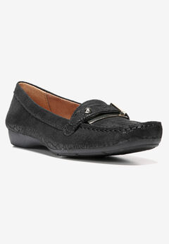 Gisella Loafer by Naturalizer®, BLACK SNAKE, hi-res