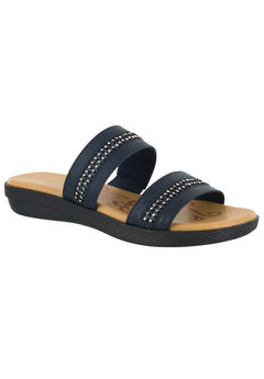 Dionne Sandals by Easy Street®, NAVY, hi-res