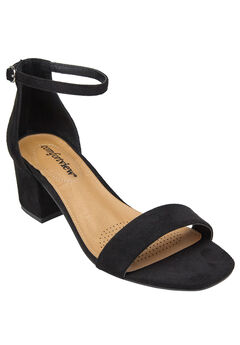 Orly Sandals by Comfortview®, BLACK