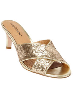 The Geraldine Mule by Comfortview®, GOLD, hi-res