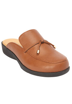 The Lillie Mule by Comfortview®, BROWN MAPLE
