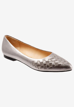Estee Woven Flat by Trotters,