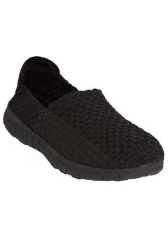 Ria Sneaker by Comfortview®, BLACK