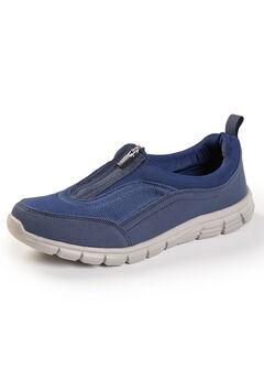 Good Soles Zip-Front Sneaker,