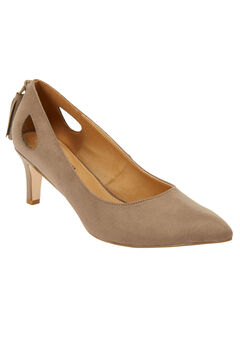 The Annalee Pump by Comfortview®, DARK TAUPE, hi-res