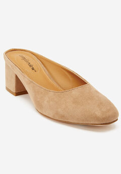 Judy Mules by Comfortview®, BEIGE