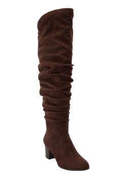 The Carmine Wide Calf Boot by Comfortview®,