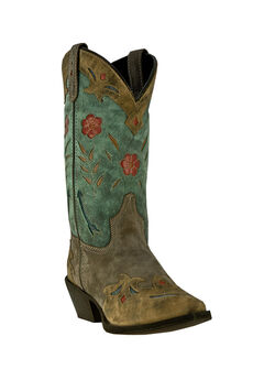 Miss Kate Cowboy Boots by Laredo, BROWN TEAL, hi-res