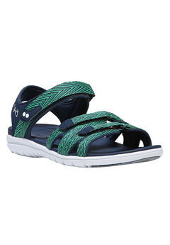 Savannah Sandals by Ryka®, NAVY GREEN, hi-res