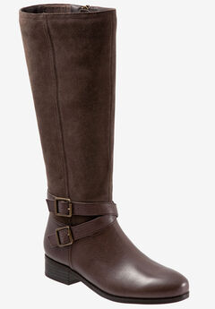 Larkin Wide Calf Boot by Trotters®,