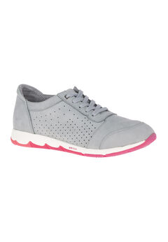 Cesky Perf Oxford by Hush Puppies®, FROST GRAY NUBUCK, hi-res
