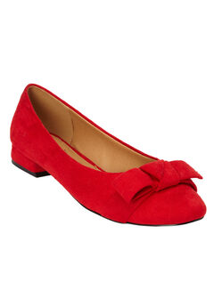 The Francine Pump by Comfortview®, BRIGHT RUBY, hi-res
