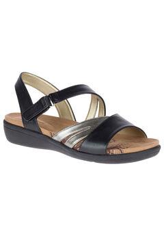Pavi Sandals by Soft Style®, BLACK, hi-res