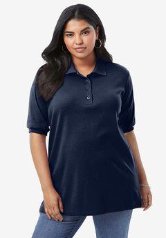 Oversized Polo Tunic,