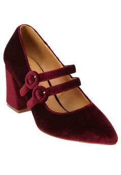 The Maura Pump by Comfortview®, BURGUNDY, hi-res