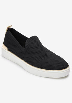 The Thea Sneaker by Comfortview®, BLACK