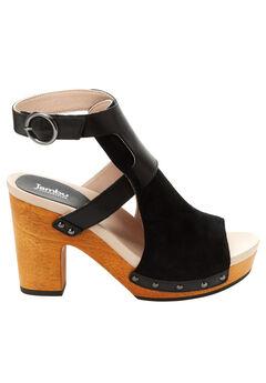 Gina Block Heel Sandals by Jambu®, BLACK, hi-res