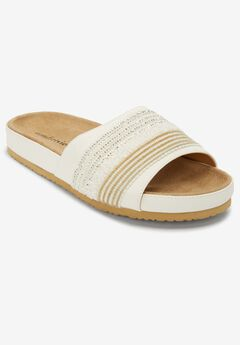The Baylor Footbed Sandal by Comfortview®,