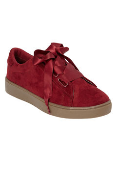 The Cadence Sneaker by Comfortview®, RICH BURGUNDY, hi-res