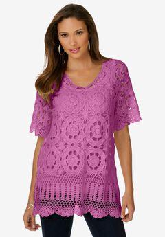 French Crochet Sweater,