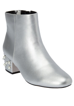 The Via Bootie by Comfortview®, SILVER, hi-res
