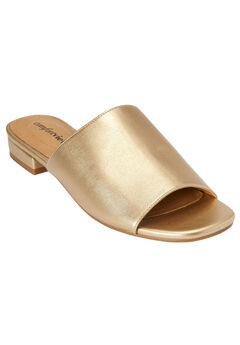 Sola Mules by Comfortview®, GOLD, hi-res