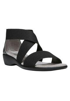 Tellie Sandals by LifeStride®, BLACK, hi-res