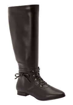 5c70f8856612 The Audrina Wide Calf Boot by Comfortview®