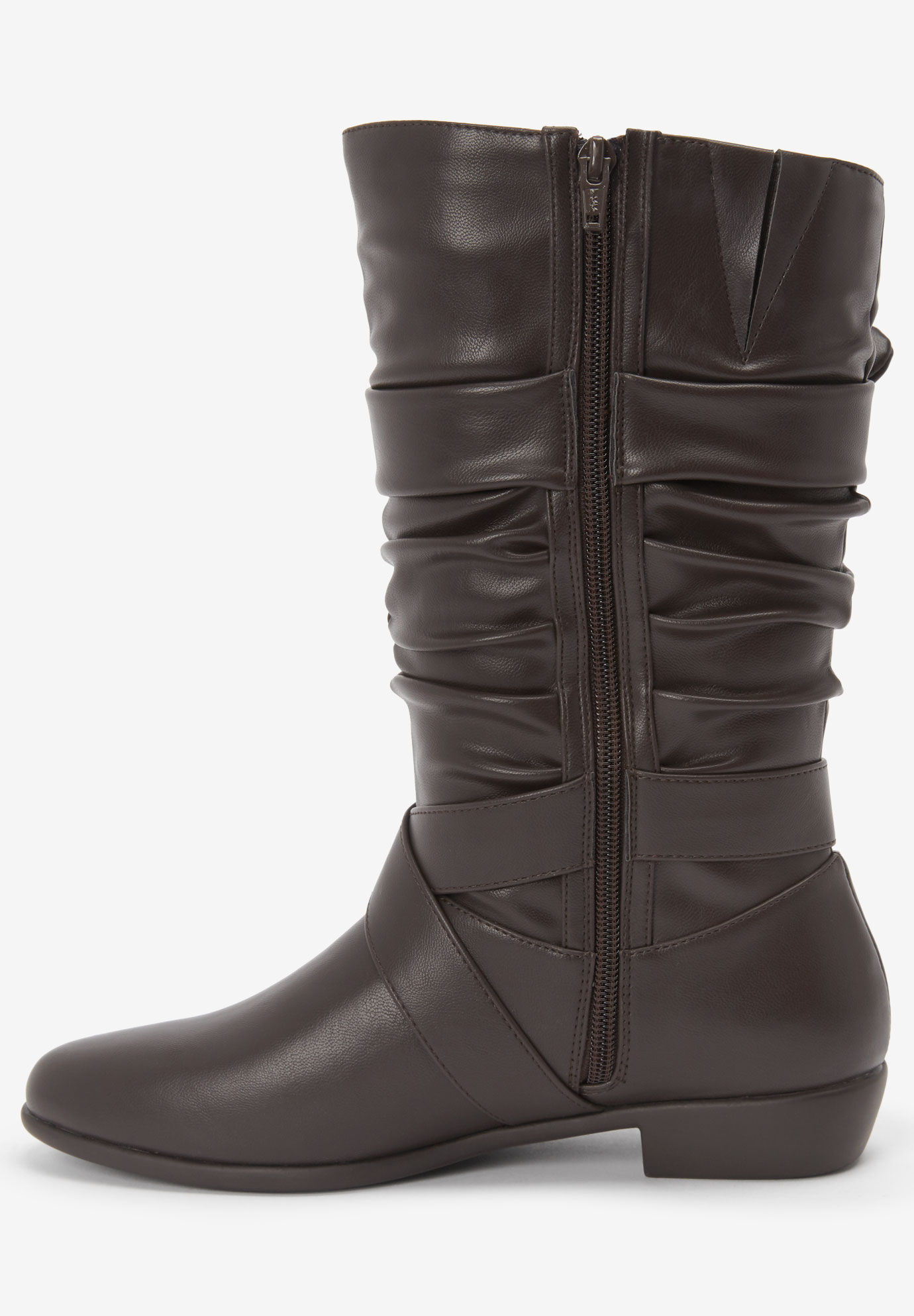 The Heather Wide Calf Boot   Woman Within
