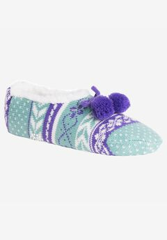 Ballerina Slippers by Muk Luks®,