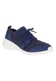 Cypress Knit Lace-Up Sneakers by Hush Puppies®,