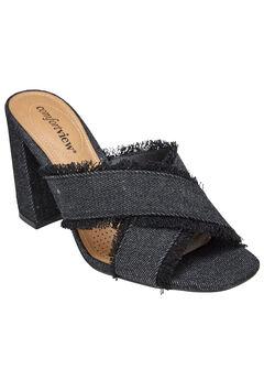 Salma Sandals by Comfortview®, BLACK, hi-res