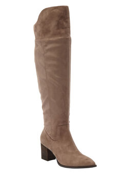 The Jinal Wide Calf Boot by Comfortview®,