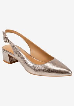 Grand Central Slingback by Aerosoles Platinum,